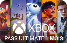 Xbox : Pass Ultimate 1 Mois