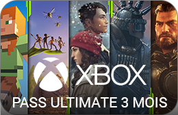 Xbox : Pass Ultimate 3 Mois
